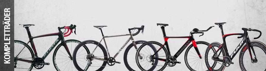 Rennräder, Cyclocross, Triathlon, Bahnräder