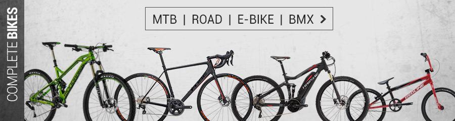 MTB, Fatbike, Kids Bikes, E-Bikes