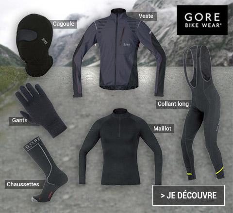 Tenue Gore Bike Wear hiver