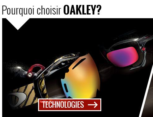 Technologies produits Oakley