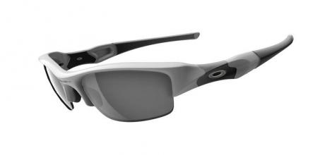 OAKLEY lunettes Flak Jacket Polished White/Black Iridium Ref 03-882
