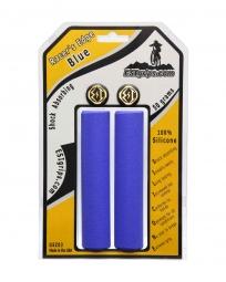 ESI Paire de Grips RACER'S Silicone Bleu 30mm