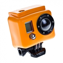 XSORIES Etui de Protection Silicon ORANGE pour Camera GOPRO Hero et hero 2