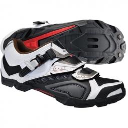 Chaussures VTT M162 Blanc Noir