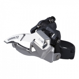 SRAM Dérailleur Avant X7 2x10V Collier Bas 31.8/34.9mm Tirage Haut/Bas 38/36 Dts