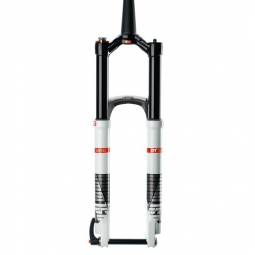DT SWISS Fourche XMM TWIN SHOT 26´´ Axe 15mm Conique 1´´1/8-1.5´´ Blanc