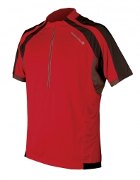 ENDURA Maillot manches courtes HUMMVEE Rouge