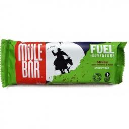 MULEBAR Barre Energétique STRUDEL (Pomme-Cannelle-Raisins) 56g