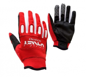 OAKLEY Gants FACTORY Rouge/Blanc