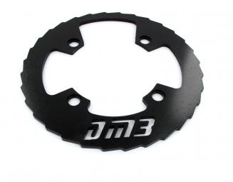 DM3 Bash Guard Alu 36-38 Dents Noir