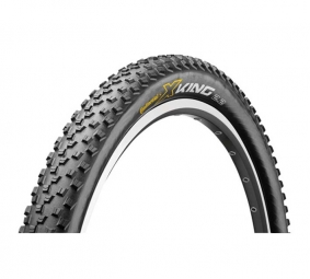 CONTINENTAL Pneu X-King Performance 26x2.40'' Tubetype Souple