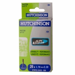 Hutchinson Chambre à air Butyl Airlight 26*1.70 à 2.10 Presta Petite