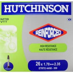 Hutchinson Chambre à air Butyl Reinforced 26*1.70 à 2.35 Presta Petite Valve (à l'un