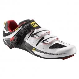 Chaussures Route Mavic AVENGE Blanc Noir Rouge