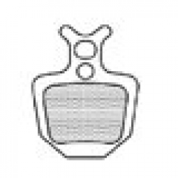 A2Z Paire de plaquettes AZ-320A FORMULA ORO Aluminium
