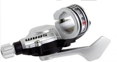 SRAM Manette Trigger Arrière X5 10 Vitesses ARGENT