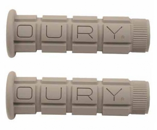 OURY Paire de Grips CLASSIC MOUNTAINS Gris