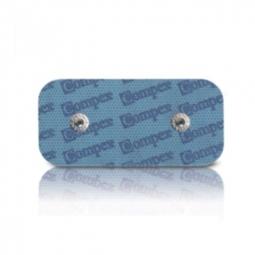 COMPEX 2 Électrodes EasySnap Performance 2 Snap 50 x 100 mm