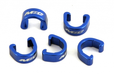 MSC ClipsDurites de freinsAlu X5 Pièces Bleu