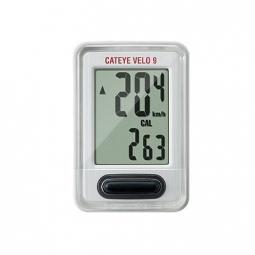 CATEYE Compteur 9 Filaire CC-VL820 Blanc