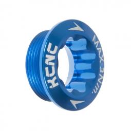 KCNC Vis de serrage pour pédalier Shimano Hollowtech Bleu