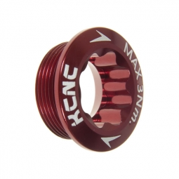 KCNC Vis de serrage pour pédalier Shimano Hollowtech Rouge