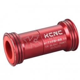 KCNC Adaptateur boite de pédalier route BB86 Rouge