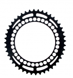 ROTOR Plateau ROUTE Interne Q-Ring 46 dents 130 EA Noir