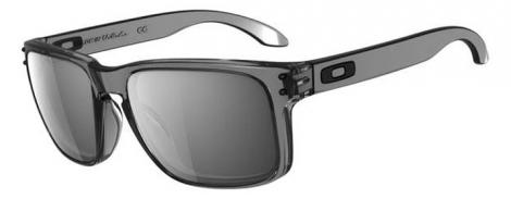 OAKLEY Paire de lunettes Holbrook Grey Smoke w/ Black Iridium Ref OO9102-24