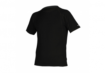 ENDURA T-Shirt manches courtes BaaBaa Merino Baselayer Noir