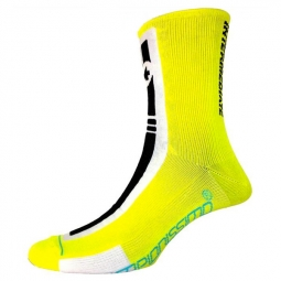 ASSOS Paire de chaussettes intermediateSocks S7 jaune Volt