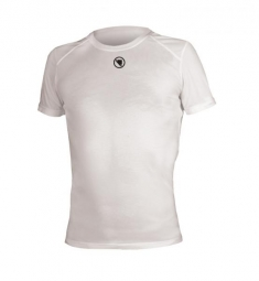 ENDURA T-Shirt manches courtes Translite Baselayer Blanc