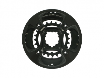 TRUVATIV Plateau Double X0 GXP-Spider 38-24 Dents + Bash 10V Noir
