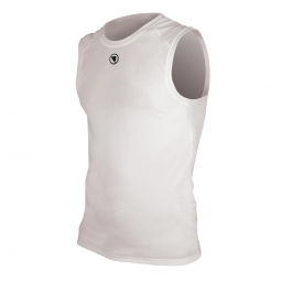ENDURA T-Shirt sans manches Translite Baselayer Blanc