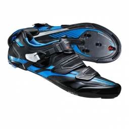 Chaussures Route Shimano R320L Noir Bleu