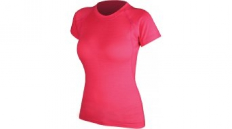ENDURA T-Shirt manches courtes Femme BaaBaa Merino BASELAYER Rose