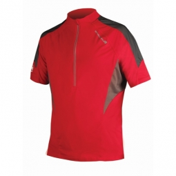 ENDURA Maillot manches courtes HUMMVEE LITE Rouge