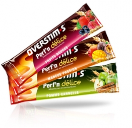 OVERSTIMS Barre énergétique PERFN DÉLICE Fruits rouges