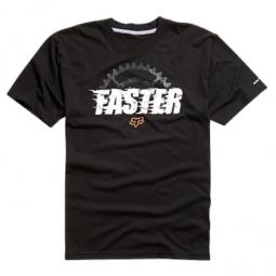 FOX Tee-Shirt Manches courtes FASTER Dirt Noir