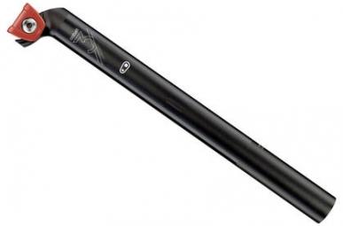 CRANKBROTHERS Tige de selle COBALT 3 Recul 20mm 400mm Noir / Rouge 30.9 x 400