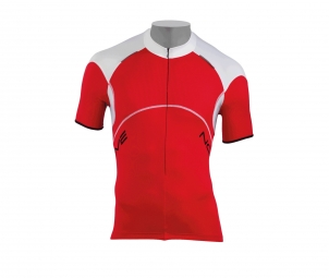 NORTHWAVE Maillot manches courtes BLADE Zip 3/4 Rouge