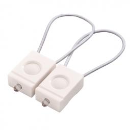 BOOKMAN kit éclairage avant + arrière Blanc