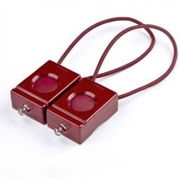 BOOKMAN kit éclairage avant + arrière Rouge foncé