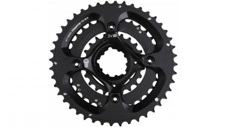 Truvativ Etoile + plateaux X0 44-33-22 Dents BB30 10 Vitesses Noir