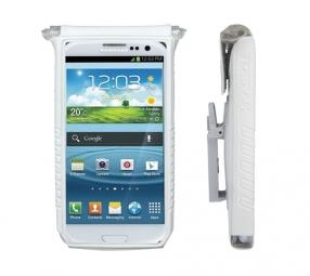 TOPEAK Housse pour smartphone DRYBAG 5 pour écran de 4 et 5´´ Blanc