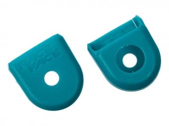 RACE FACE Paire de Protèges Manivelles Carbone BOOT PEDAL Turquoise