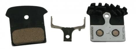 SHIMANO Plaquettes J04C ICE TECH BR-M675/785/985 support métal