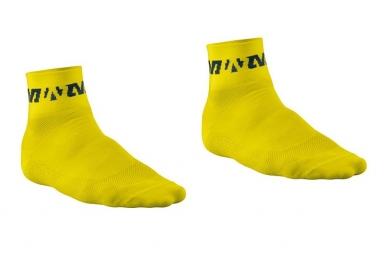 MAVIC Paire de chaussettes RACE Jaune