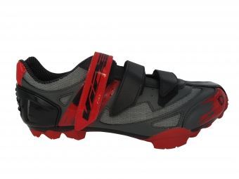 Chaussures VTT Viper X Team Gris Noir Rouge