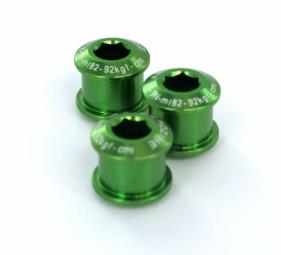 AEROZINE Kit de 5 vis 7mm + cheminées Vert